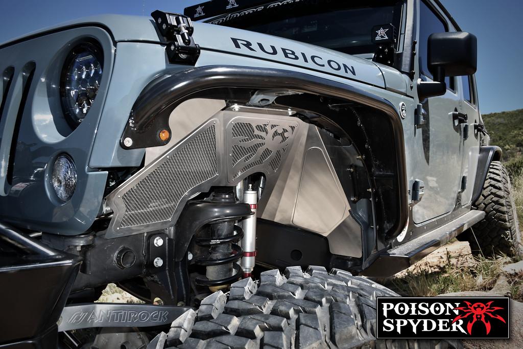 Poison Spyder Jeep Jk Front Inner Fender Kit Vented 17