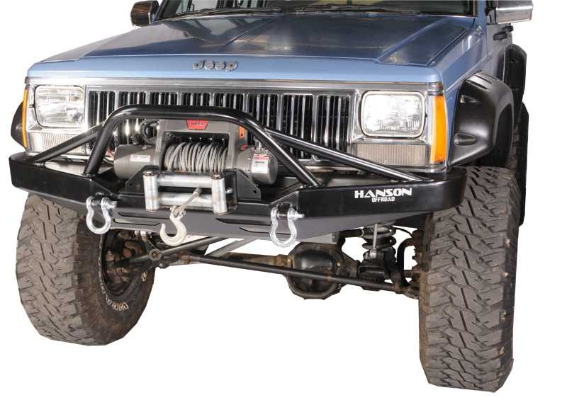 hanson offroad prerunner bumper xj cherokee jxj1402 p. Cars Review. Best American Auto & Cars Review
