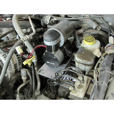 Synergy Mfg 07 11 Jeep Jk Onboard Air Compressor Bracket