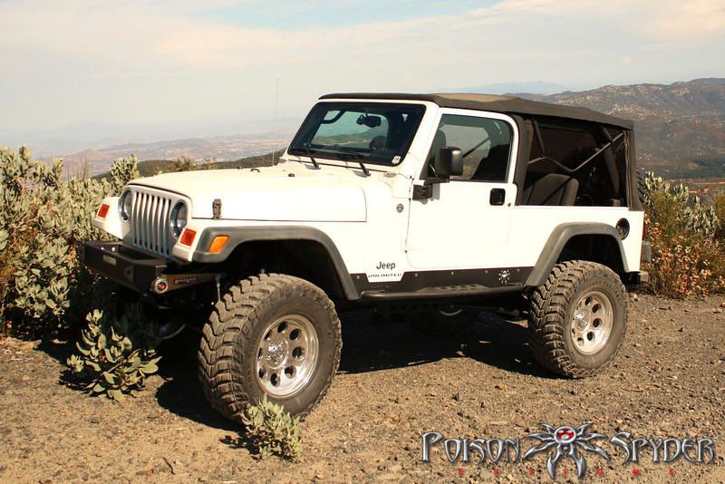 Poison Spyder Customs Jeep LJ Ricochet Rockers | 15-50-010 ...