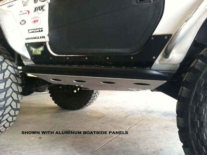 Tnt Customs Rock Sliders Jeep Jk 2 Door Jrs2a Jeepinoutfitters