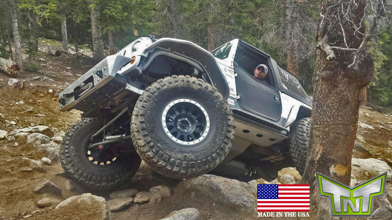 Tnt Customs Rock Sliders Jeep Jk 2 Door Jrs2a