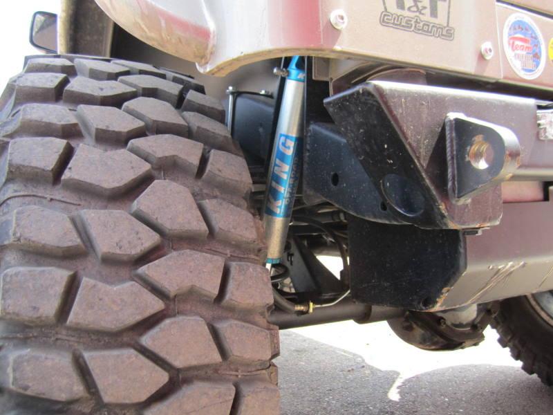 Tnt Customs Outboard Rear Shock Kit Tj Lj Yj Obsk