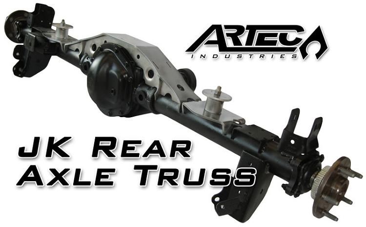 Artec Industries Jk Rear Axle Truss D44 Jk4420