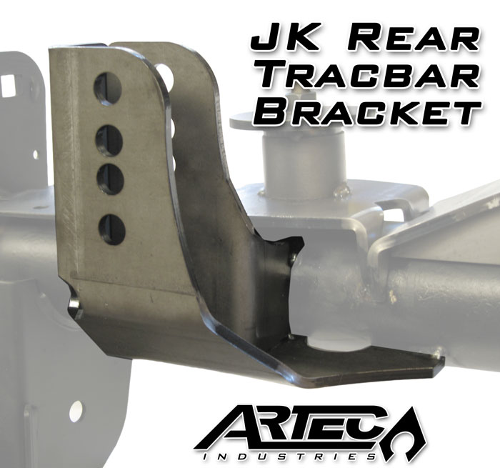 Artec Industries Jk Rear Trackbar Bracket Jk4426