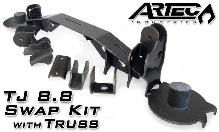 Artec Industries TJ 8 8 Swap Kit with Truss | TR8801