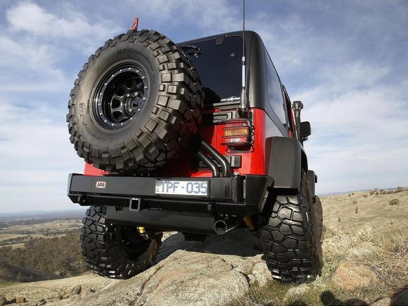 Wrangler Rear Bumper Arb Rear Bumper Jeep Wrangler