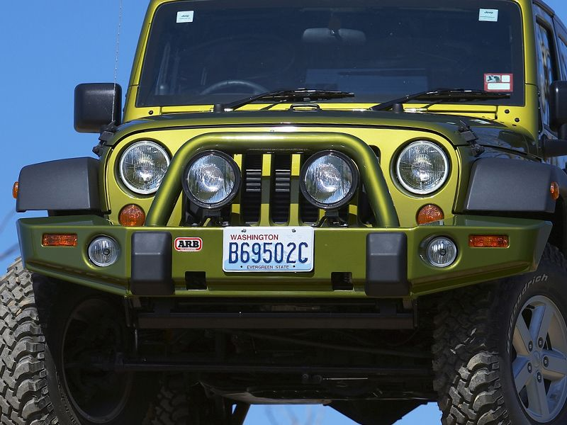 Jeep Wrangler Accessories >> ARB Deluxe Front Bumper Bull Bar - Jeep JK Wranger and Unlimited 2007+ | 3450230 | JeepinOutfitters