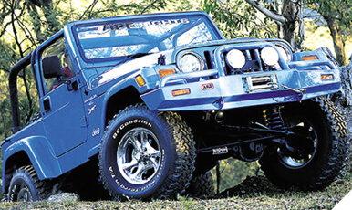 Jeep Cj Parts >> ARB Bull Bar Bumper, Jeep Wrangler TJ/Wrangler Unlimited ...