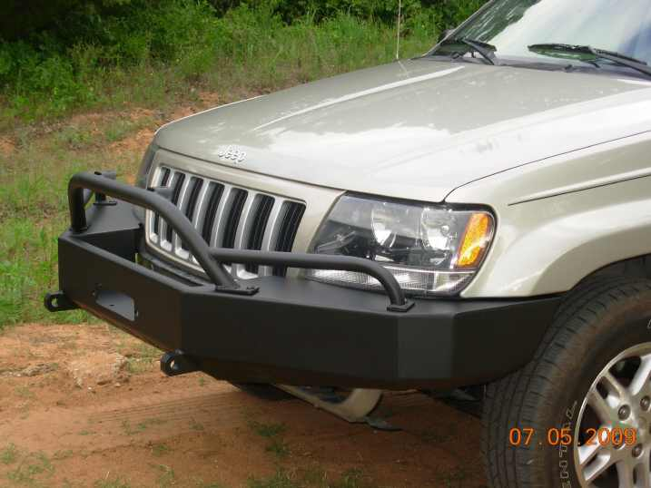 C4x4 Prerunner Bar For Wj Bumpers Wj Pre Jeepinoutfitters