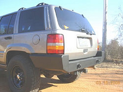 C4x4 Jeep Grand Cherokee ZJ Rear Bumper