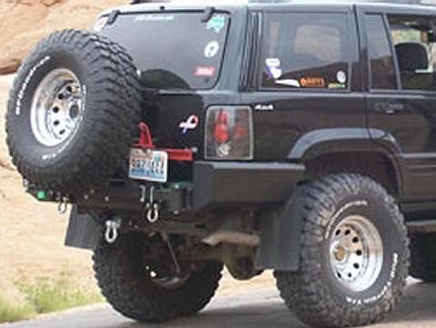 C4x4 Jeep Grand Cherokee Zj Rear Bumper Zj Rb
