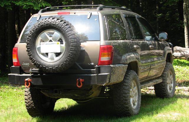 C4x4 Wj Grand Cherokee Rear Bumper 02 04 Wj Rb02