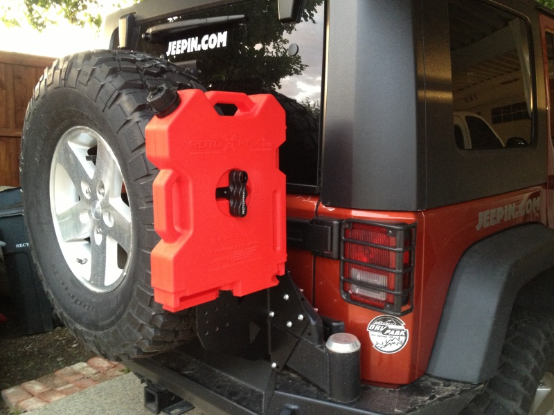 Expedition One Jeep Jk Rotopax Geri Can Mount Gerimnt Jk