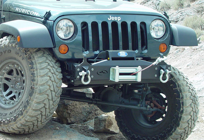 Expedition One Jeep Jk Basicdx Winch Bumper Jkdx100a