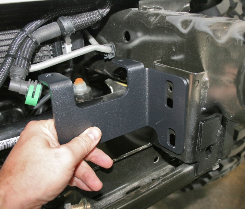Expedition One Jeep Jk Vacuum Pump Relocation Kit For 2012