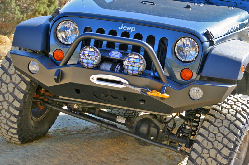 Expedition One Jeep Jk Trail Series Front Bumper Jkfb100