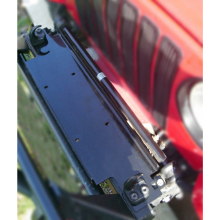 Rugged Ridge Winch Mounting Plate, 87-06 Jeep Wrangler