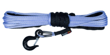 Rugged Ridge Synthetic Winch Line, 1/4-inch X 50 feet