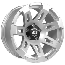 Rugged Ridge Aluminum Wheel, Silver, 18x9, 07-14 Jeep Wrangler (JK)