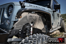 Poison Spyder Jeep JK Front Inner Fender Kit - Vented