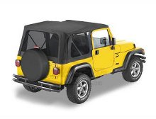 Bestop Sailcloth Replace-a-Top, Tinted Windows, Jeep 97-02 Wrangler TJ