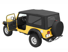 Bestop Sailcloth Replace-a-Top, Tinted Windows, Jeep 04-06 Wrangler Unlimited LJ