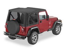 Bestop Sailcloth Replace-a-Top, Tinted Windows, Jeep 03-06 Wrangler TJ