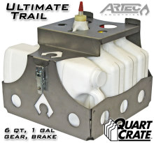 Artec Industries Ultimate Trail Quart Crate - 6 qts, brake, gear, coolant