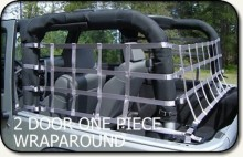 Aspen Mfg One Piece Wraparound Net, Jeep JK 2DR