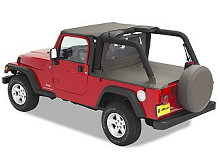 Bestop Duster Deck Cover for Jeep Wrangler Unlimited, 04-06