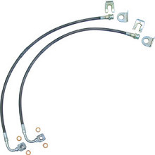 Currie JK Front or Rear Stainless Brake Line Kit