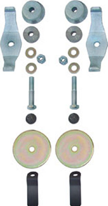 Currie JK Rear Coil Spring Retainer Kit