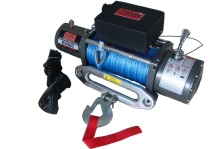 Engo USA Model E9000S Winch w/Synthetic Rope