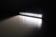 "Lifetime LED 20"" Amber/White LED Light Bar 120W"