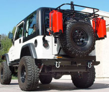 LoD 1996-2006 Jeep TJ/LJ Xpedition Series Bumper/Tire Carrier