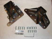 M.O.R.E. BombProof Block Brackets for 00-06 TJ 4.0