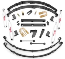 "Rough Country 4"" Suspension Lift Kit - 87-95 Jeep YJ Wrangler"