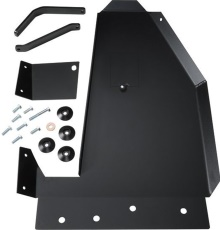 Rock Hard 4x4 Oil Pan / Transmission Skid Plate - Short Arm/Factory Suspension for Jeep Wrangler JK 2/4DR 2007 - 2017