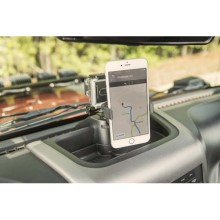 Rugged Ridge Dash Multi-Mount Phone Kit; 11-16 Jeep Wrangler JK