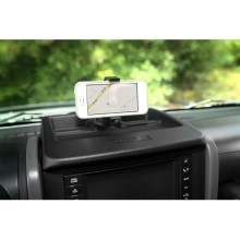 Rugged Ridge Dash Multi-Mount Phone Kit; 07-10 Jeep Wrangler JK