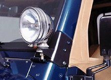 Rugged Ridge TJ windshield light mounts