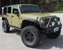TNT Customs Jeep JK Wrangler Unlimited 4-dr Sliders