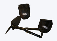 Traction Jack Folding Shovel + Pickaxe & Carrying Pouch