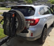 Traction Jack Carrying Bag – Spare Tire Mount
