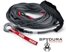 "Warn Spydura Synthetic Rope, 3/8"" x 100'"