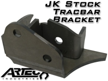 Artec Industries JK Heavy Duty Stock Tracbar Bracket