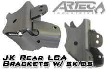Artec Industries JK Rear LCA Brackets with Skids
