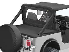 Bestop Duster Deck Cover, Jeep 87-91 Wrangler YJ