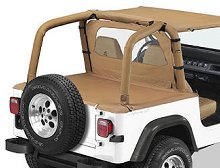 Bestop Duster Deck Cover, Jeep 92-95 Wrangler TJ